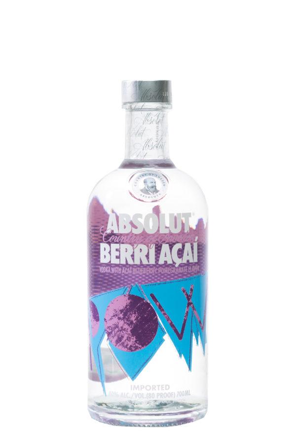 Absolut Berri Acai Vodka 70cl