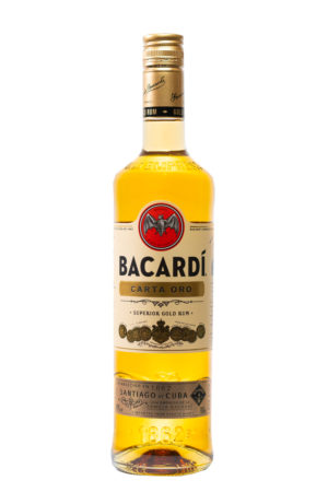 Bacardi Carta Oro Rum 70cl