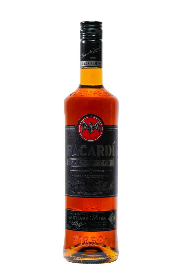 Bacardi Carta Negra Rum 70cl