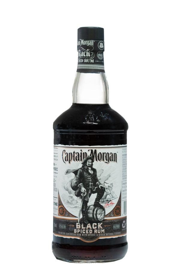 Captain Morgan Black Spiced Rum 75cl