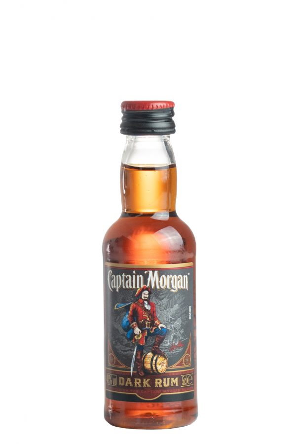 Captain Morgan Dark Rum 5cl