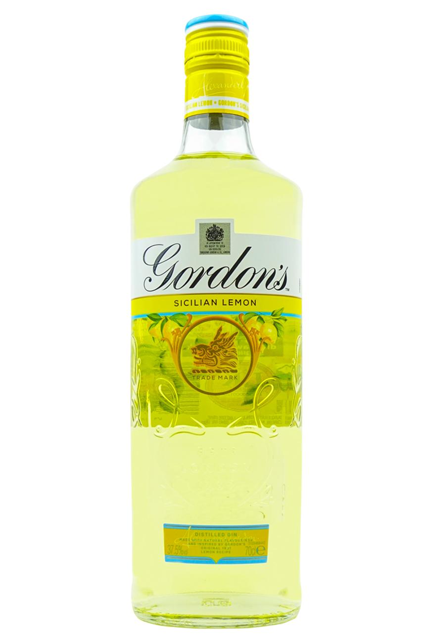 Gordon S Sicilian Lemon Gin 70cl Vip Bottles