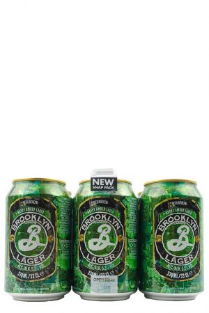 Brooklyn Lager 6 x 33cl