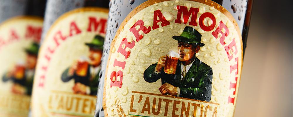 Birra Moretti mobile