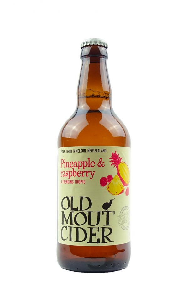 Old Mout Pineapple & Raspberry Cider