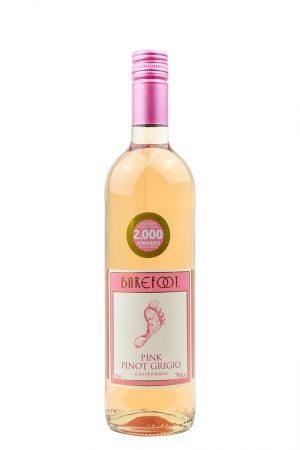 Barefoot Pink Pino Grigio Wine