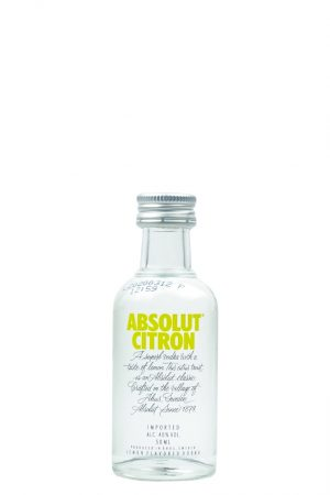 Absolut Citron Vodka Mini