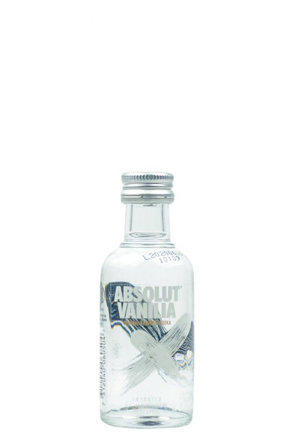 Absolut Vanilla Vodka Mini