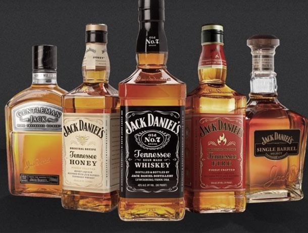 Jack Daniels Whiskey Bourbon