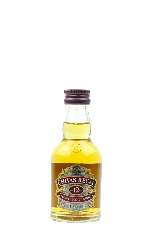 Chivas Regal 12 Year Old Whisky 5cl