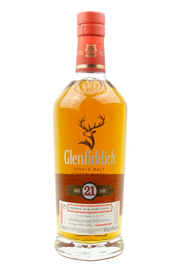Glenfiddich 21 Year Old Whisky