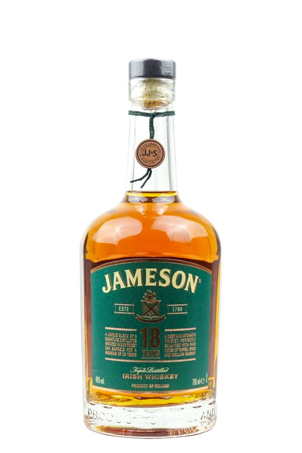 Jameson 18 Year Old Whisky 70cl bottle image