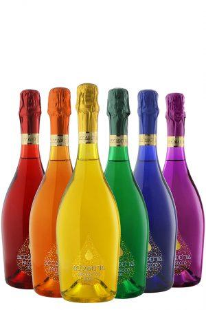Accademia Prosecco Rainbow Collection