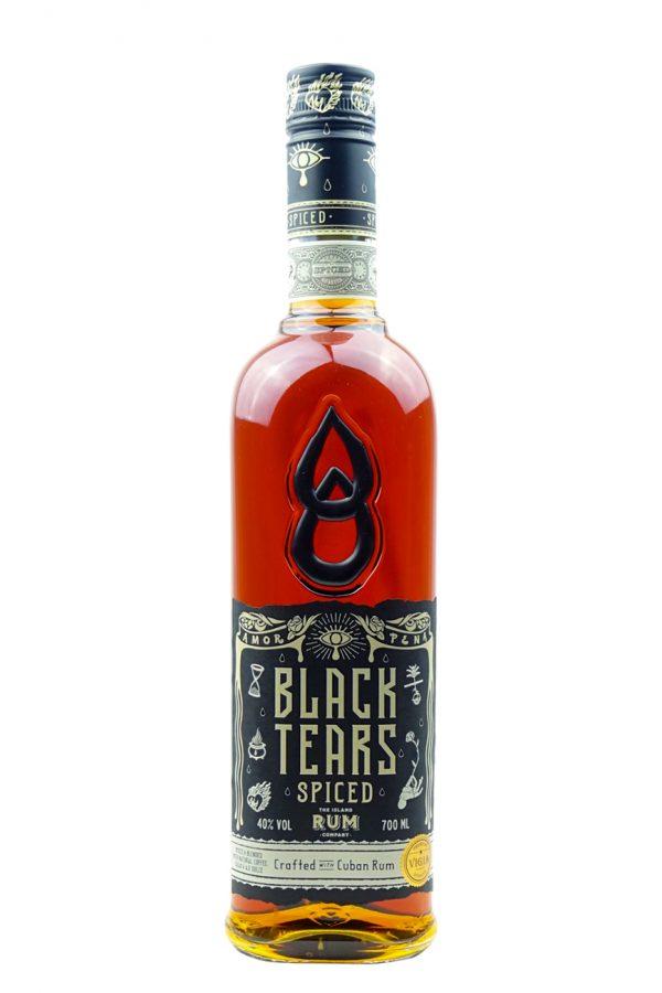 Black Tears Spiced Rum 70cl