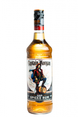 Captain Morgan 100 Proof Spiced Rum 75cl