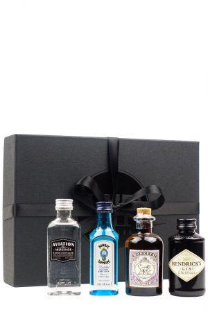 Gin Tasting Collection (Monkey 47, Bombay, Hendricks, Aviation)