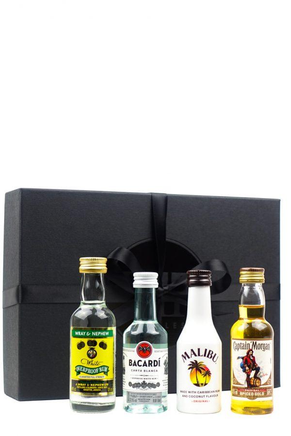 Rum Tasting Collection (Wray, Bacardi, Malibu, Captain)