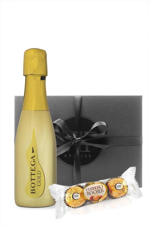 Bottega Gold Prosecco with Ferrero Rocher Gift Box 20cl