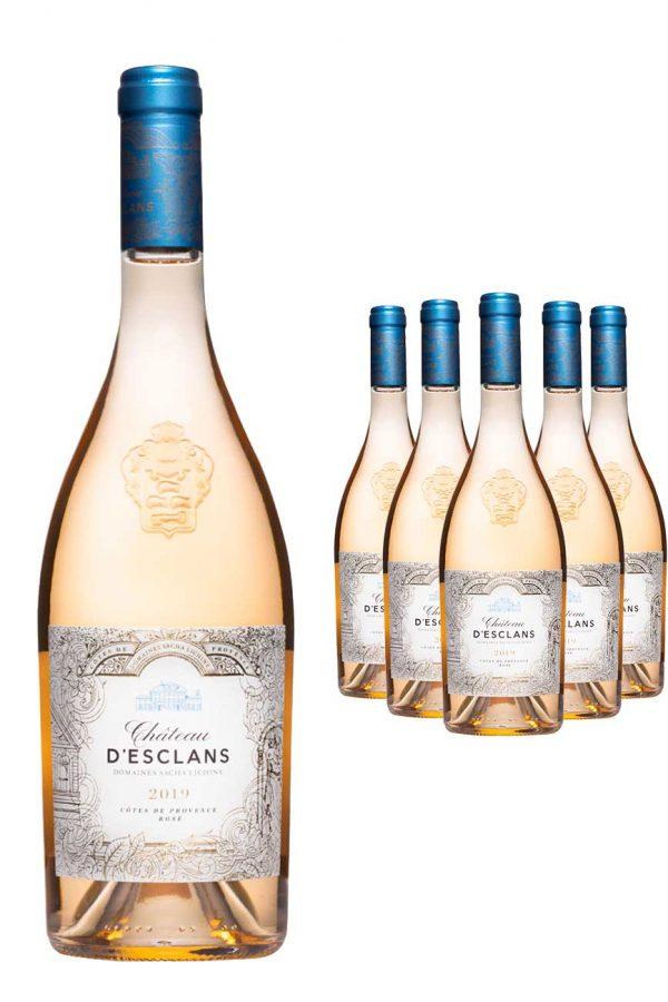 Chateau d'Esclans Cotes De Provence Wine 6 x 75cl Case