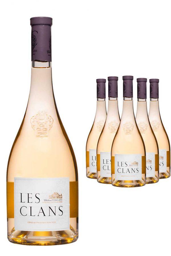 Chateau d'Esclans Les Clans Wine 6 x 75cl Case