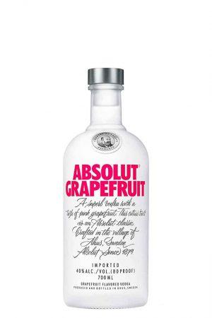 Absolut Grapefruit Vodka 70cl