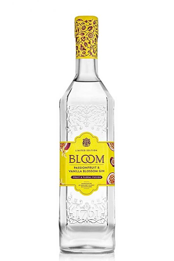 Bloom Passion Fruit & Vanilla Gin 70cl