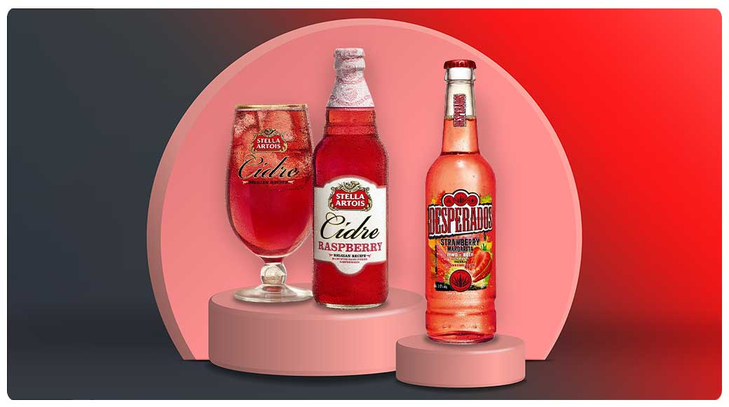 Stella Artois Cidre & Desperados