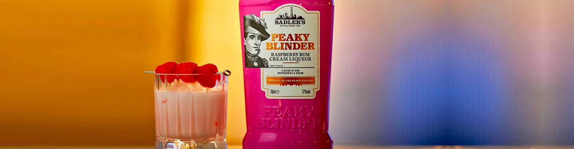 Peaky Blinders Raspberry Rum Cream Liqueur